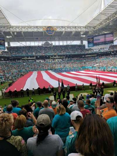 Hard Rock Stadium, section: 133, row: 11, seat: 22