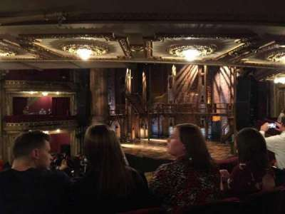 PrivateBank Theatre, section: Dress Circle, row: C, seat: 6