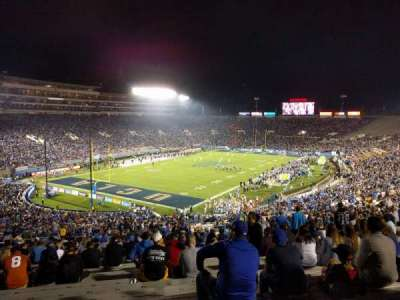 Rose Bowl, section: 28-L, row: 68, seat: 15