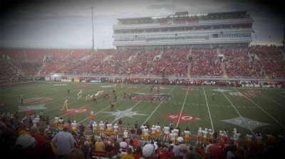 Sam Boyd Stadium, section: 106, row: 19, seat: 23