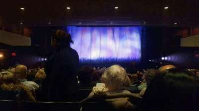 Marquis Theatre, section: Orchestra Center, row: X, seat: 112