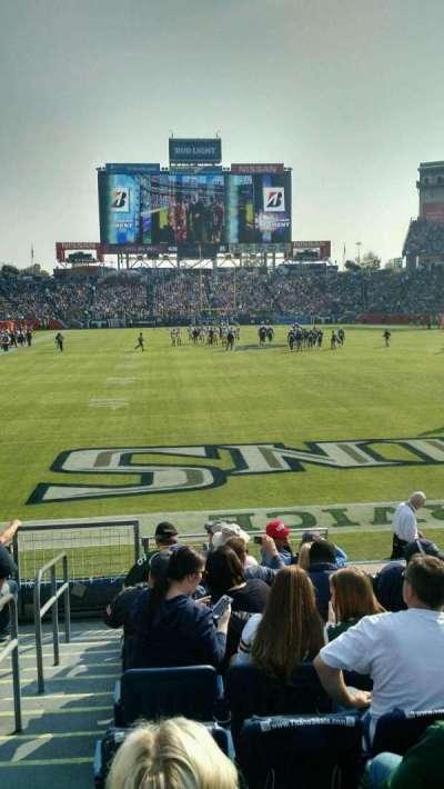 Nissan Stadium, section: 101, row: K, seat: 20