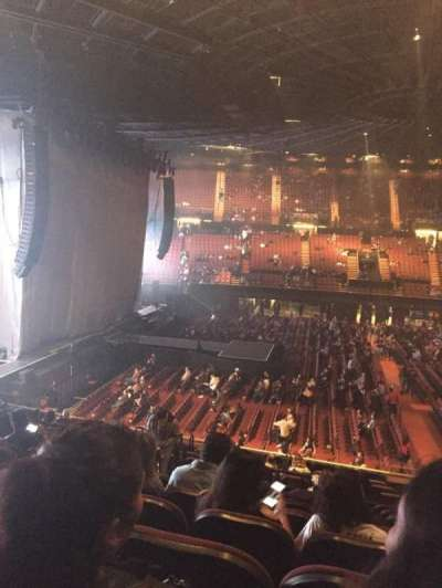 The Forum, section: 127, row: 15, seat: 4
