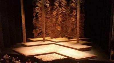 Bernard B. Jacobs Theatre, section: Mezz, row: A, seat: 101