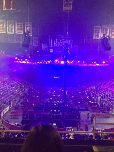 Joe Louis Arena, section: 201, row: 5, seat: 3