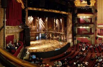 PrivateBank Theatre, section: Mezz-L, row: A, seat: 9