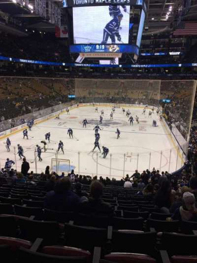 Air Canada Centre, section: 102, row: 25, seat: 5
