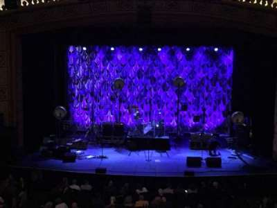 Count Basie Theatre, section: Loge, row: C, seat: 108