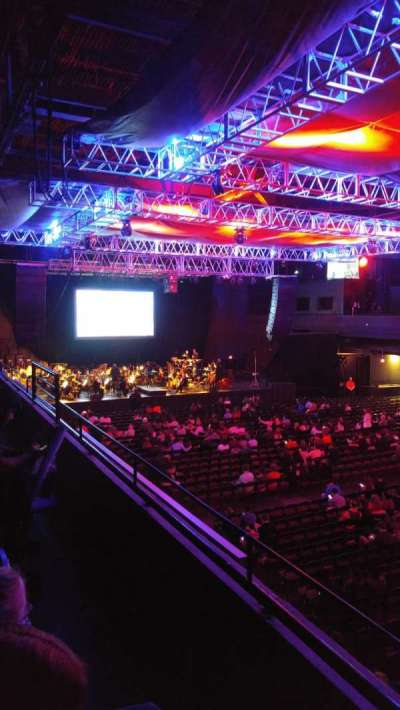Revention Music Center, section: 206, row: B, seat: 9