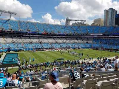 Bank of America Stadium section 348
