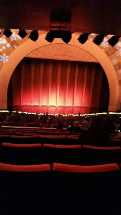 Radio City Music Hall, section: 1st Mezzanine 5, row: h, seat: 512