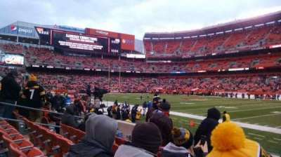 FirstEnergy Stadium, section: 112, row: 5, seat: 12
