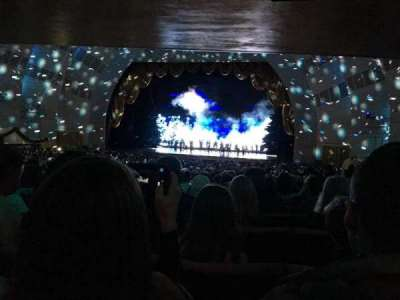 Radio City Music Hall, section: Orchestra 3, row: U, seat: 301