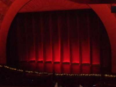 Radio City Music Hall, section: 1st Mezzanine 1, row: J, seat: 110