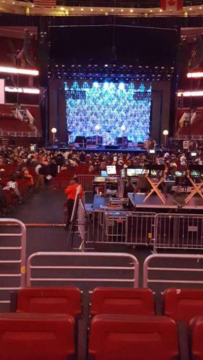 Wells Fargo Center, section: 107, row: 5, seat: 2