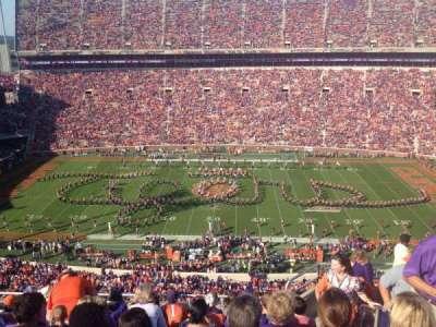 Memorial Stadium, Clemson section TDE