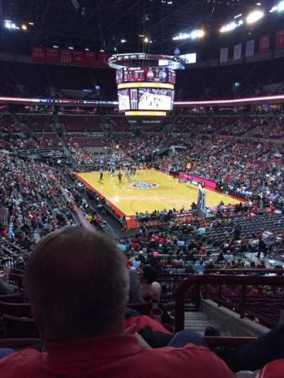 Value City Arena, section: 217, row: G, seat: 3