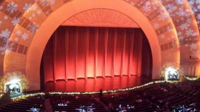 Radio City Music Hall, section: 2nd Mezzanine 6, row: A, seat: 606