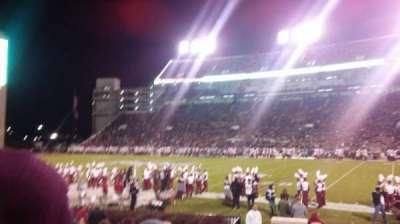 Davis Wade Stadium, section: 18, row: 11, seat: 8