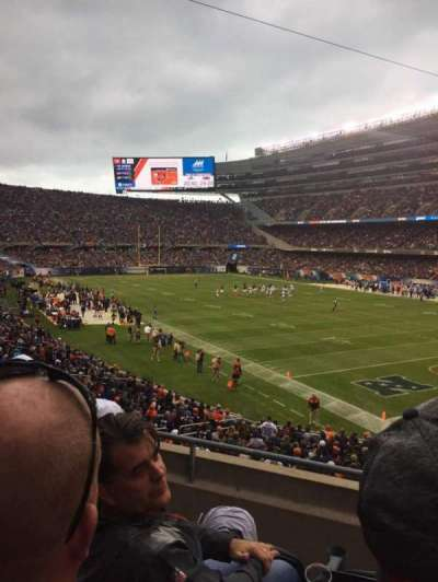 Soldier Field section 228
