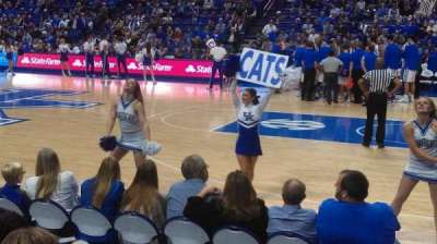 Rupp Arena, section: 12, row: DD
