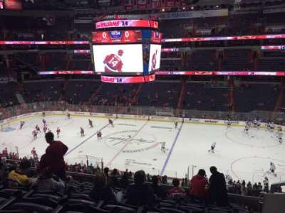 Verizon Center, section: 201, row: L, seat: 14