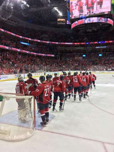 Verizon Center, section: 117, row: B, seat: 5