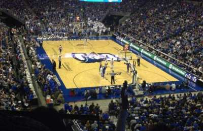 CenturyLink Center, section: 214, row: F, seat: 18