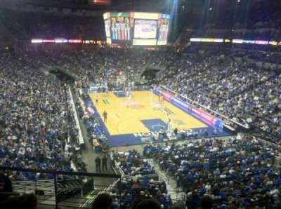 CenturyLink Center, section: 214, row: F, seat: 17