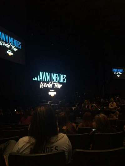 Rosemont Theatre, section: 112, row: R, seat: 3
