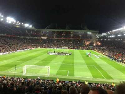 Old Trafford, section: W206, row: 20, seat: 166