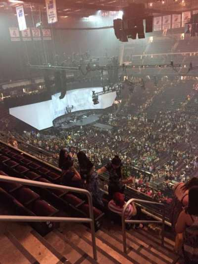 Prudential Center, section: 131, row: 5, seat: 19