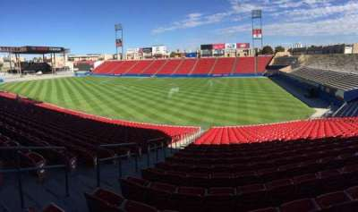 Toyota Stadium, section: 110, row: 29, seat: 19
