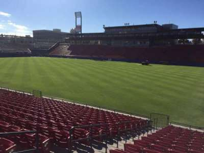 Toyota Stadium, section: 132, row: 16, seat: 4