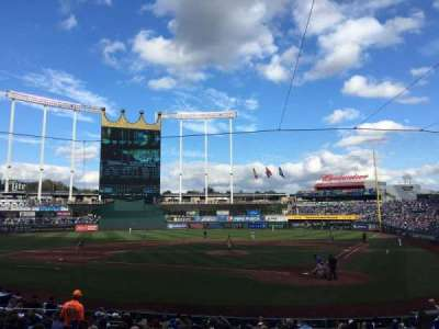 Kauffman Stadium, section: 125, row: R, seat: 10