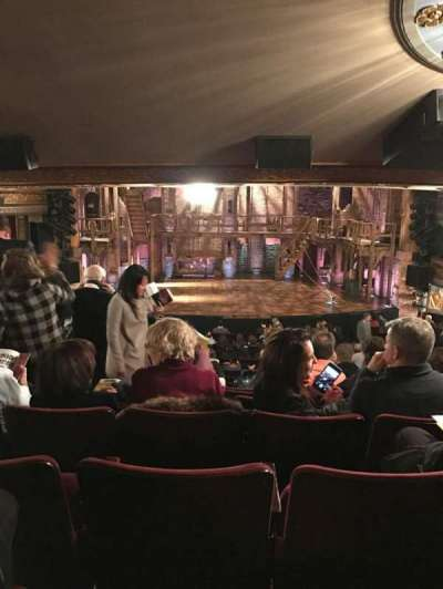 Richard Rodgers Theatre, section: Orch, row: V, seat: 111