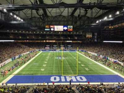 Ford Field, section: 243, row: 2, seat: 1