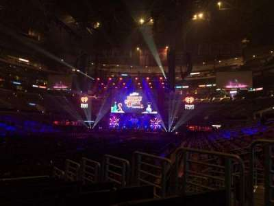 Staples Center, section: 105, row: 10, seat: 4