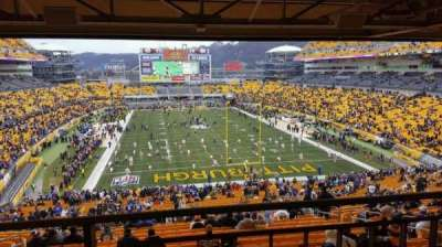 Heinz Field, section: NC 07, row: A