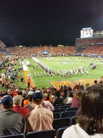 Camping World Stadium, section: 123, row: CC, seat: 9