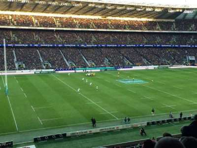 Twickenham Stadium, section: M11, row: 68