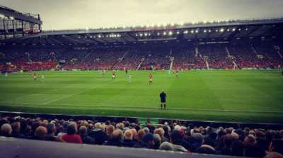 Old Trafford, section: Sir Alex Ferguson Stand