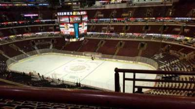 United Center, section: 332, row: 9, seat: 1