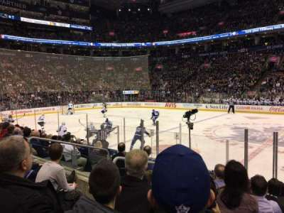 Air Canada Centre, section: 108, row: 9, seat: 6