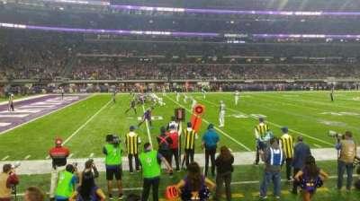 U.S. Bank Stadium, section: 112, row: 2, seat: 13