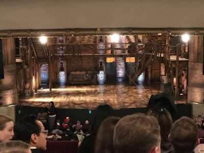 PrivateBank Theatre, section: Dress Circle C, row: E, seat: 205