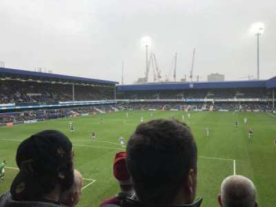 Loftus Road, section: Y6, row: C, seat: 85