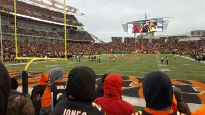 Paul Brown Stadium, section: 124, row: 5, seat: 16