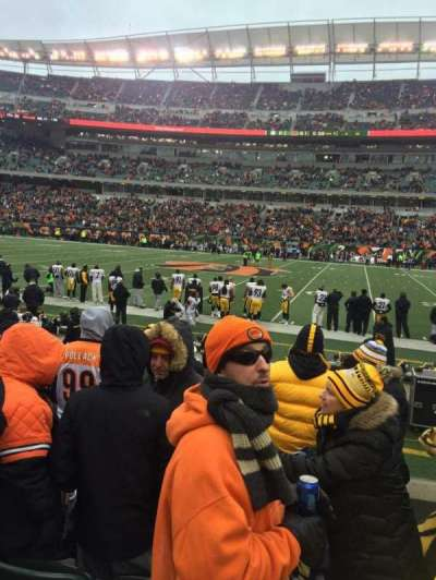 Paul Brown Stadium, section: 139, row: 5, seat: 11