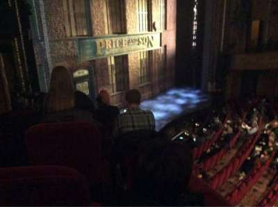 Al Hirschfeld Theatre, section: Left Box, seat: 13